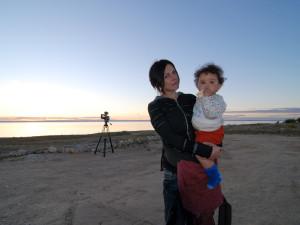 Jeni and daughter